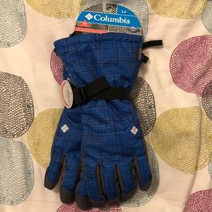Men's Columbia Gloves blue size Small